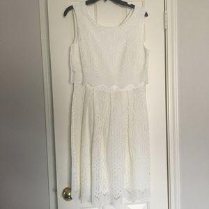 Antonio Melani Ivory Dress